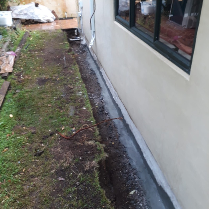 If Altering Your Lawn Isn T An Option Or Soil Is Heavy Clay A More Effective Solution To Install Underground Drainage Pipes Tiles